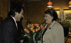 Klubová večeře s Jiřinou Bohdalovou