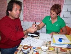 Předání finančního daru MŠ v obci Chrastava